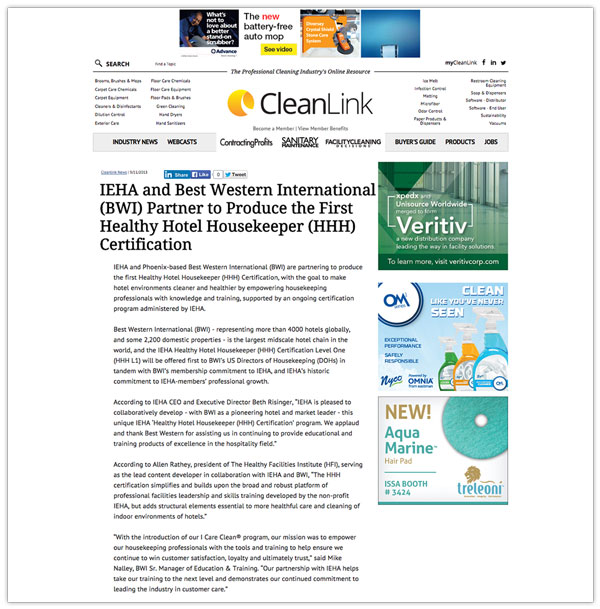 CleanLink Weekly News