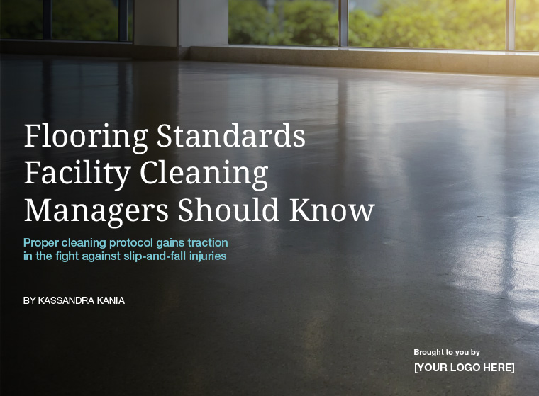 Flooring Standards Facility Cleaning Managers Should Know